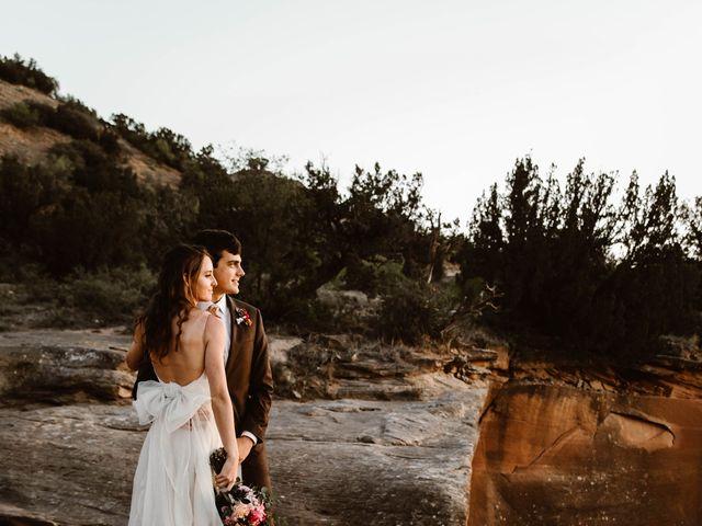 David  and Rebekah 's Wedding in Canyon, Texas 13