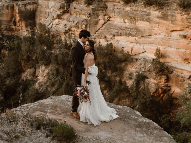 David  and Rebekah 's Wedding in Canyon, Texas 16