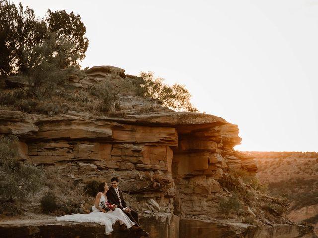 David  and Rebekah 's Wedding in Canyon, Texas 17