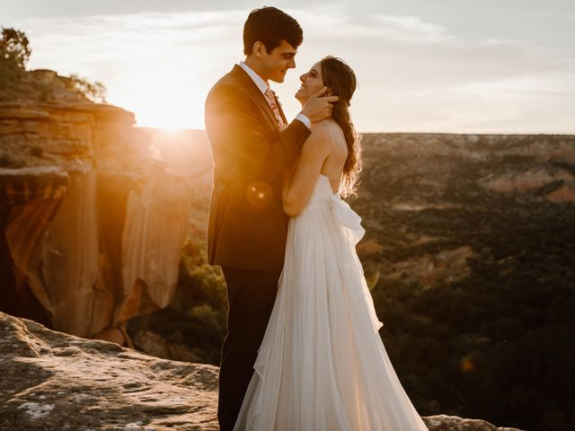 David  and Rebekah 's Wedding in Canyon, Texas 1