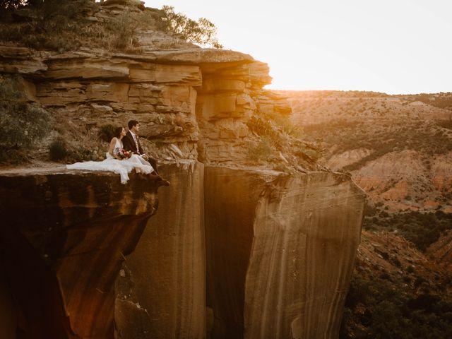 David  and Rebekah 's Wedding in Canyon, Texas 24