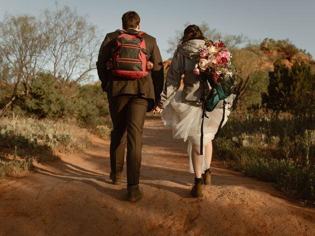 David  and Rebekah 's Wedding in Canyon, Texas 25