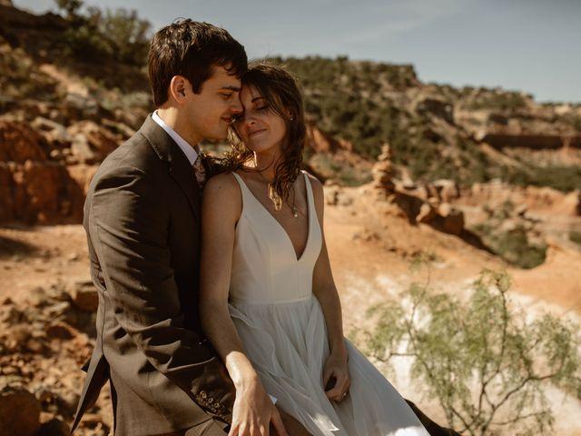 David  and Rebekah 's Wedding in Canyon, Texas 32
