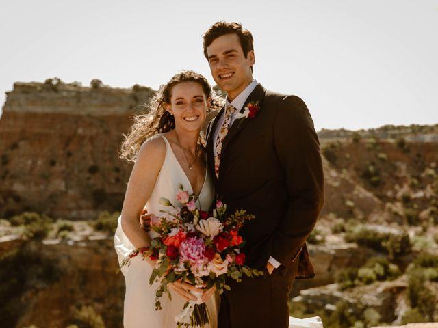 David  and Rebekah 's Wedding in Canyon, Texas 34