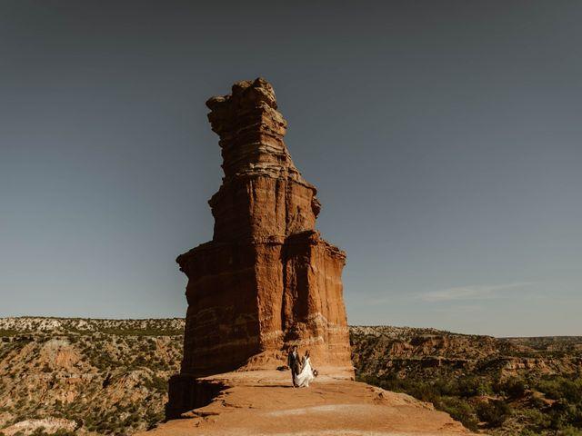 David  and Rebekah 's Wedding in Canyon, Texas 35