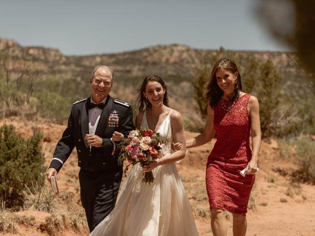 David  and Rebekah 's Wedding in Canyon, Texas 42