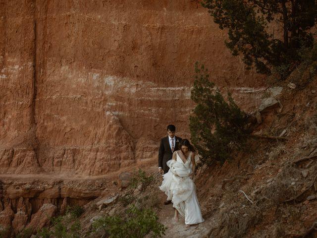 David  and Rebekah 's Wedding in Canyon, Texas 45