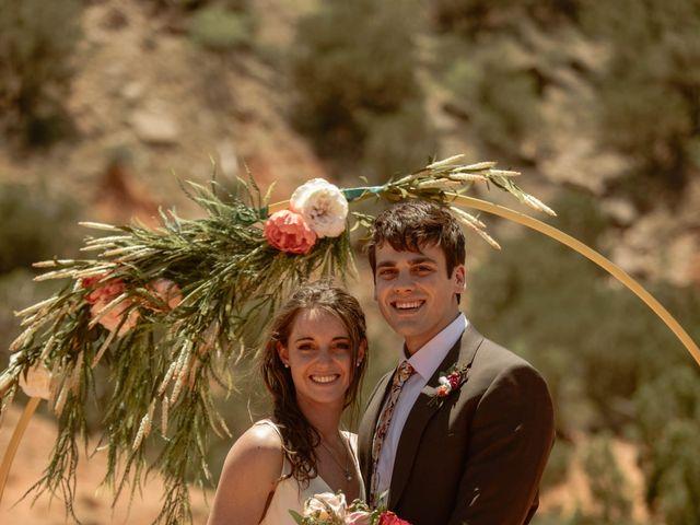 David  and Rebekah 's Wedding in Canyon, Texas 51