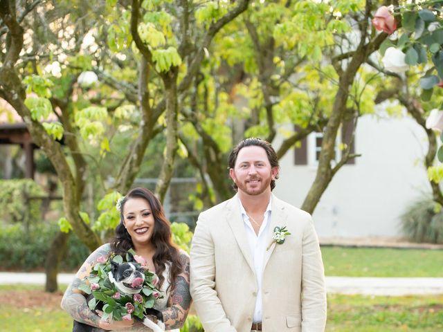 Brandon and Christie's Wedding in Homestead, Florida 15