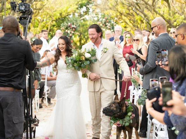 Brandon and Christie's Wedding in Homestead, Florida 16