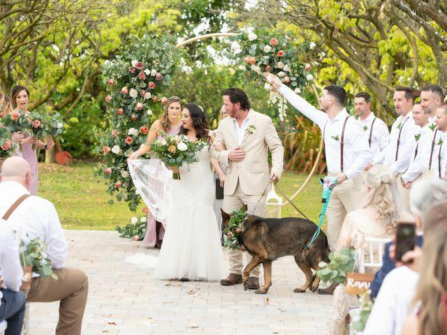 Brandon and Christie's Wedding in Homestead, Florida 17