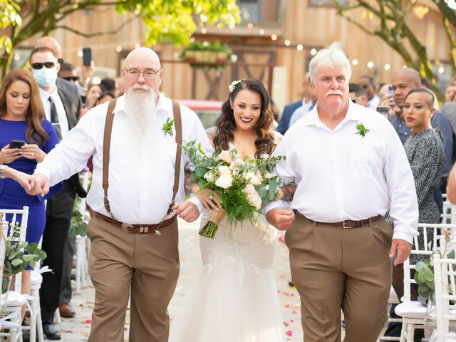 Brandon and Christie's Wedding in Homestead, Florida 19