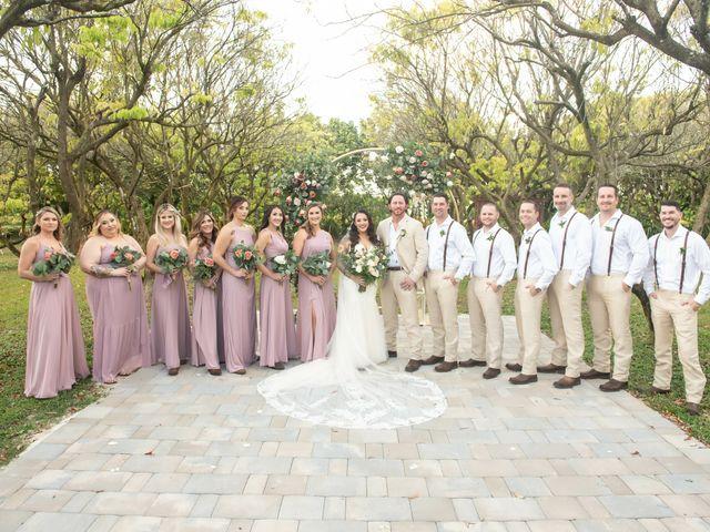 Brandon and Christie's Wedding in Homestead, Florida 44