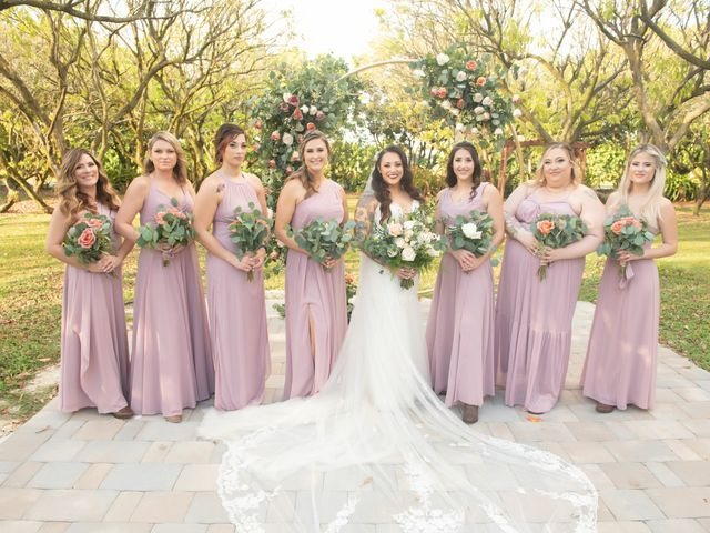 Brandon and Christie's Wedding in Homestead, Florida 45