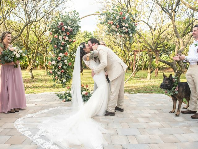 Brandon and Christie's Wedding in Homestead, Florida 46