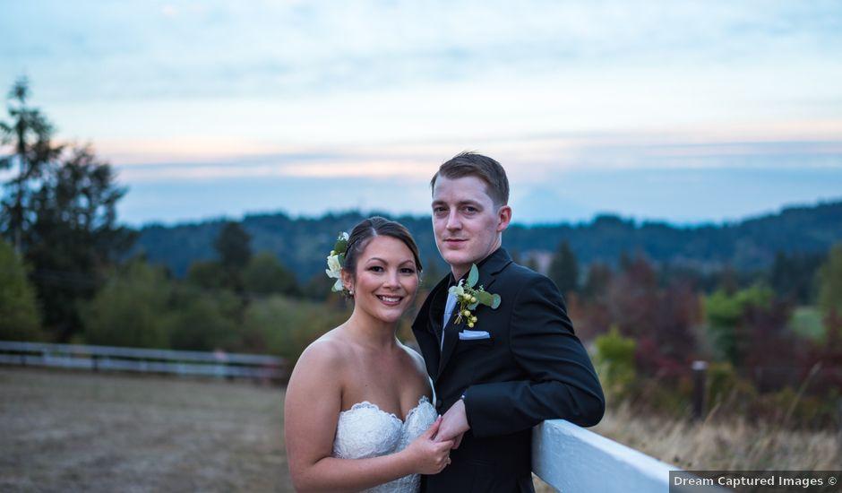 Tyler and Marissa's Wedding in Damascus, Oregon