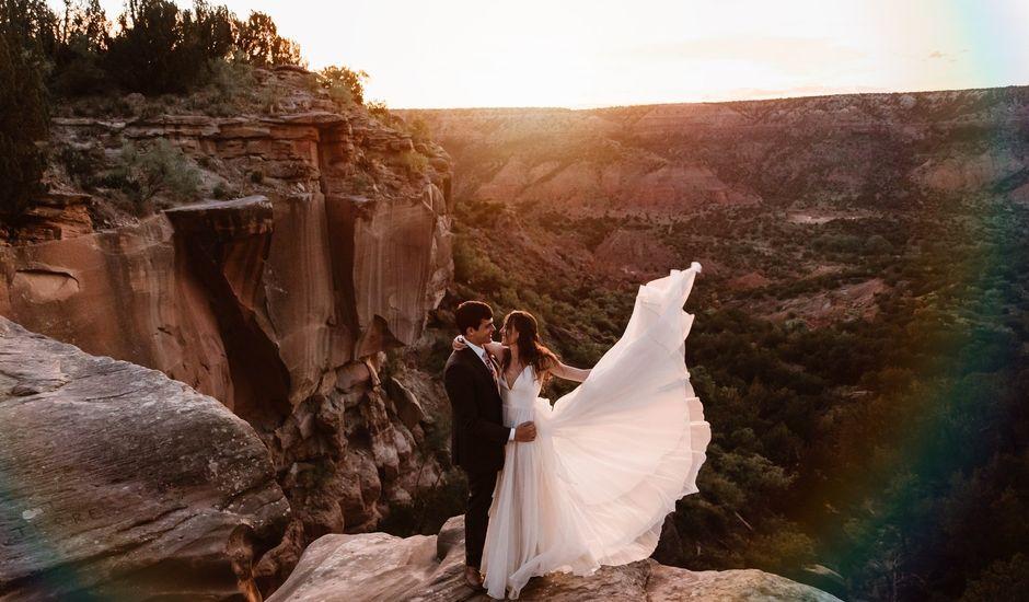David  and Rebekah 's Wedding in Canyon, Texas