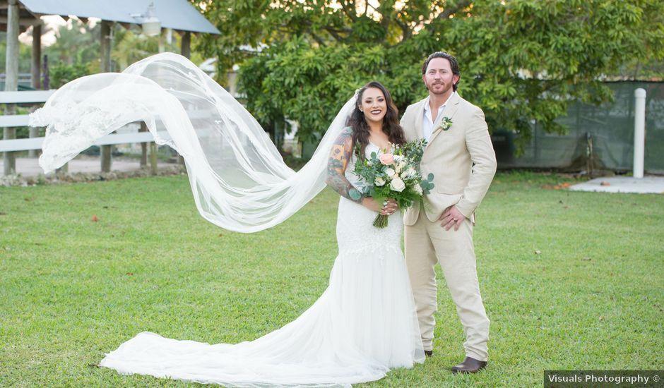 Brandon and Christie's Wedding in Homestead, Florida