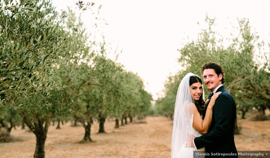 Sophia and Arden's wedding in Greece