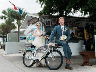 Emily and William's Wedding in Key West, Florida 10