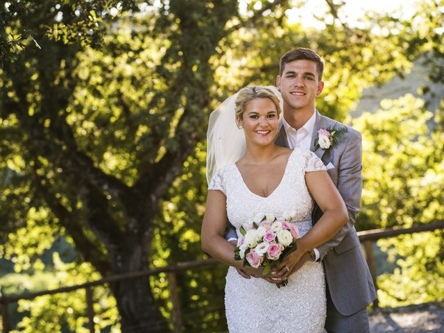 The wedding of Colin and Rosemary