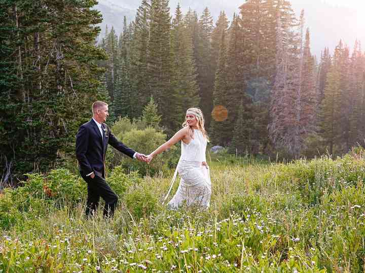 The wedding of Lorin and Craig