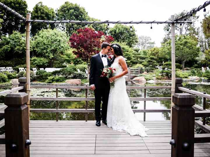 The wedding of Nisha and Danny