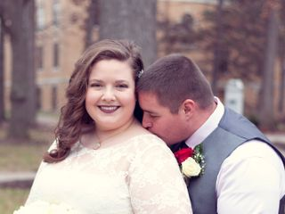 The wedding of Alyssa and Tobey