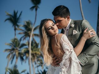 The wedding of Genavieve and Andrew