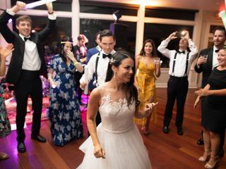 The wedding of Kristin and Jarod 1