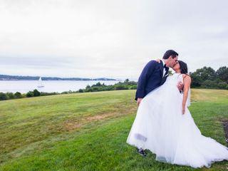 The wedding of Kristin and Jarod