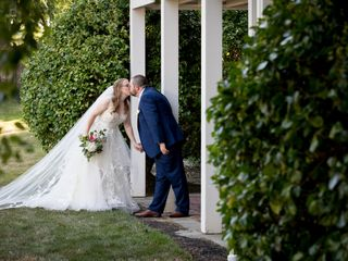 The wedding of LeAnn and Billy