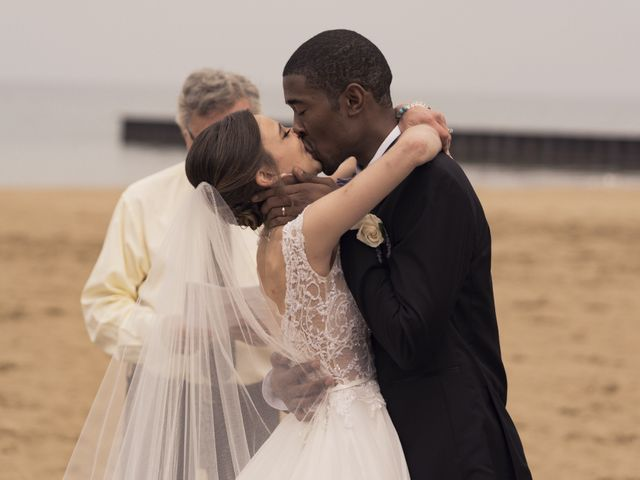 Ariel and Miracle's Wedding in Evanston, Illinois 1