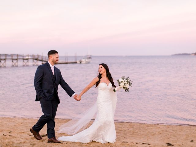 Dominic and Jordyn's Wedding in Harwich, Massachusetts 44