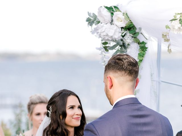 Dominic and Jordyn's Wedding in Harwich, Massachusetts 15