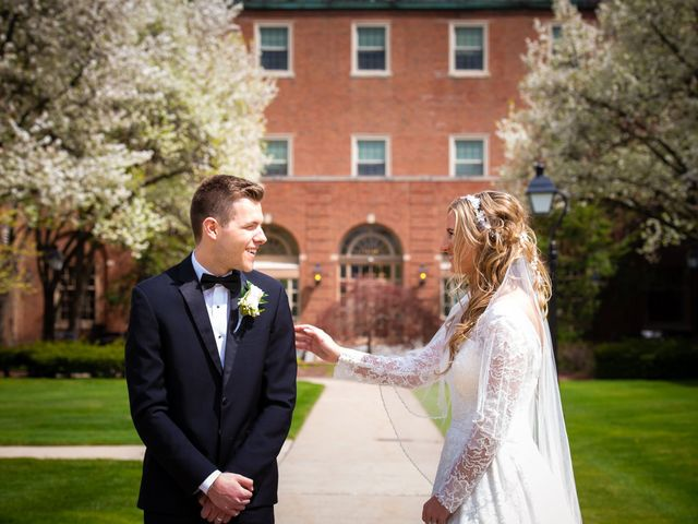 Garrett and Allison's Wedding in Shelby Charter Township, Michigan 6