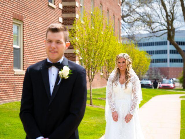 Garrett and Allison's Wedding in Shelby Charter Township, Michigan 7