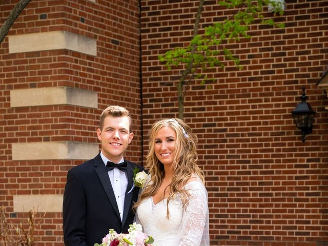Garrett and Allison's Wedding in Shelby Charter Township, Michigan 8