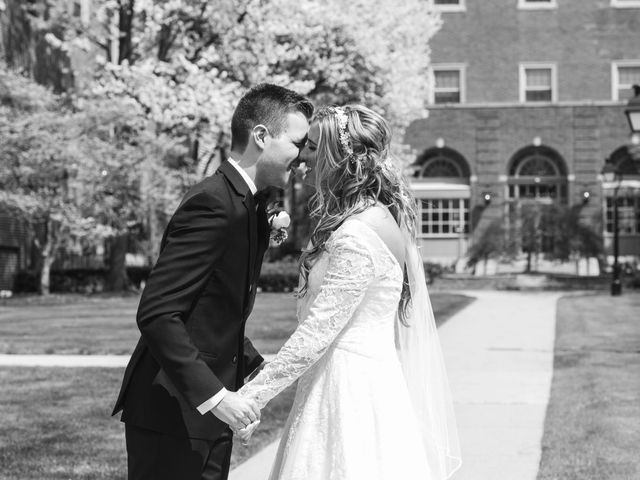 Garrett and Allison's Wedding in Shelby Charter Township, Michigan 9
