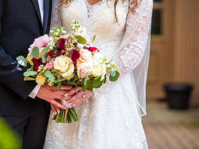 Garrett and Allison's Wedding in Shelby Charter Township, Michigan 10