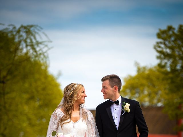 Garrett and Allison's Wedding in Shelby Charter Township, Michigan 15