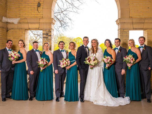 Garrett and Allison's Wedding in Shelby Charter Township, Michigan 19