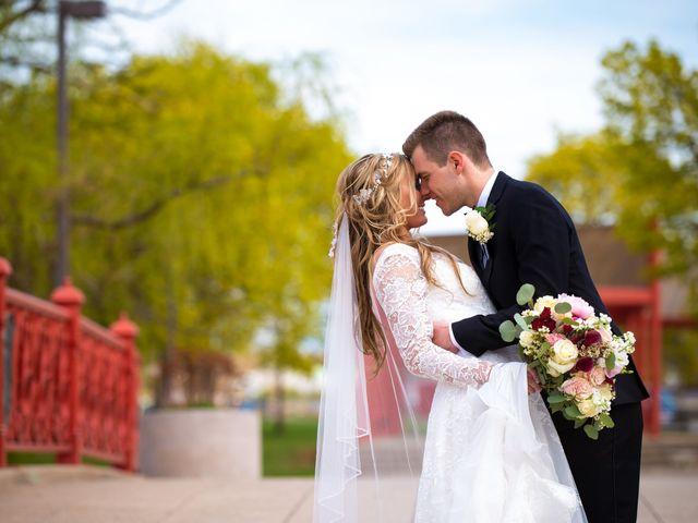 The wedding of Allison and Garrett