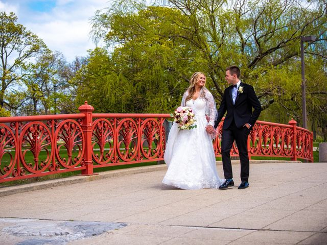 Garrett and Allison's Wedding in Shelby Charter Township, Michigan 20