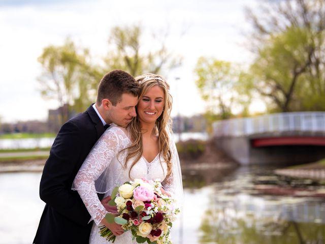Garrett and Allison's Wedding in Shelby Charter Township, Michigan 21