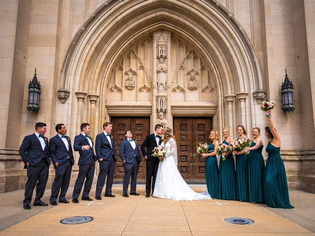 Garrett and Allison's Wedding in Shelby Charter Township, Michigan 35