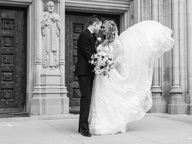 Garrett and Allison's Wedding in Shelby Charter Township, Michigan 37
