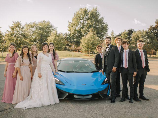 Lauren and David's Wedding in Detroit, Michigan 5