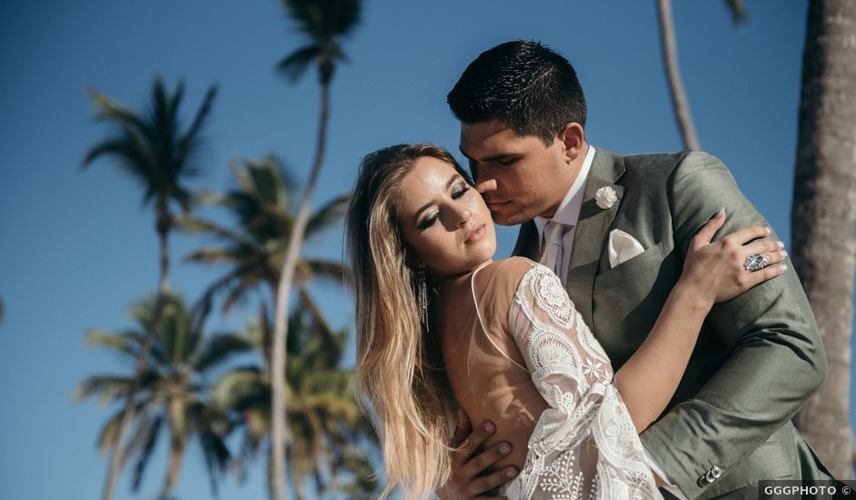 Andrew and Genavieve's Wedding in Bavaro, Dominican Republic