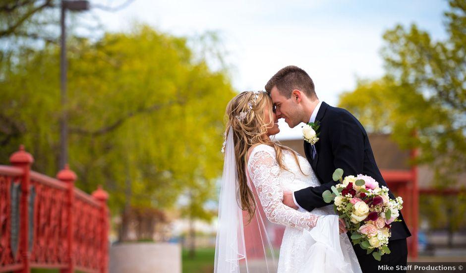 Garrett and Allison's Wedding in Shelby Charter Township, Michigan
